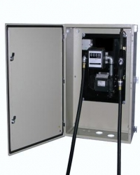 Fuel Pump in Wall Security Cabinet